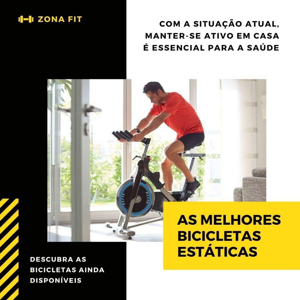As melhores bicicletas estáticas para a sua casa