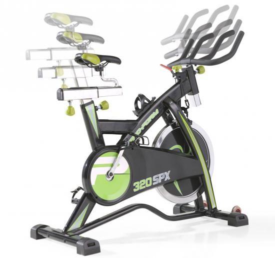 Bicicleta Spinning Proform 320 SPX Banco e guiador ajustaveis