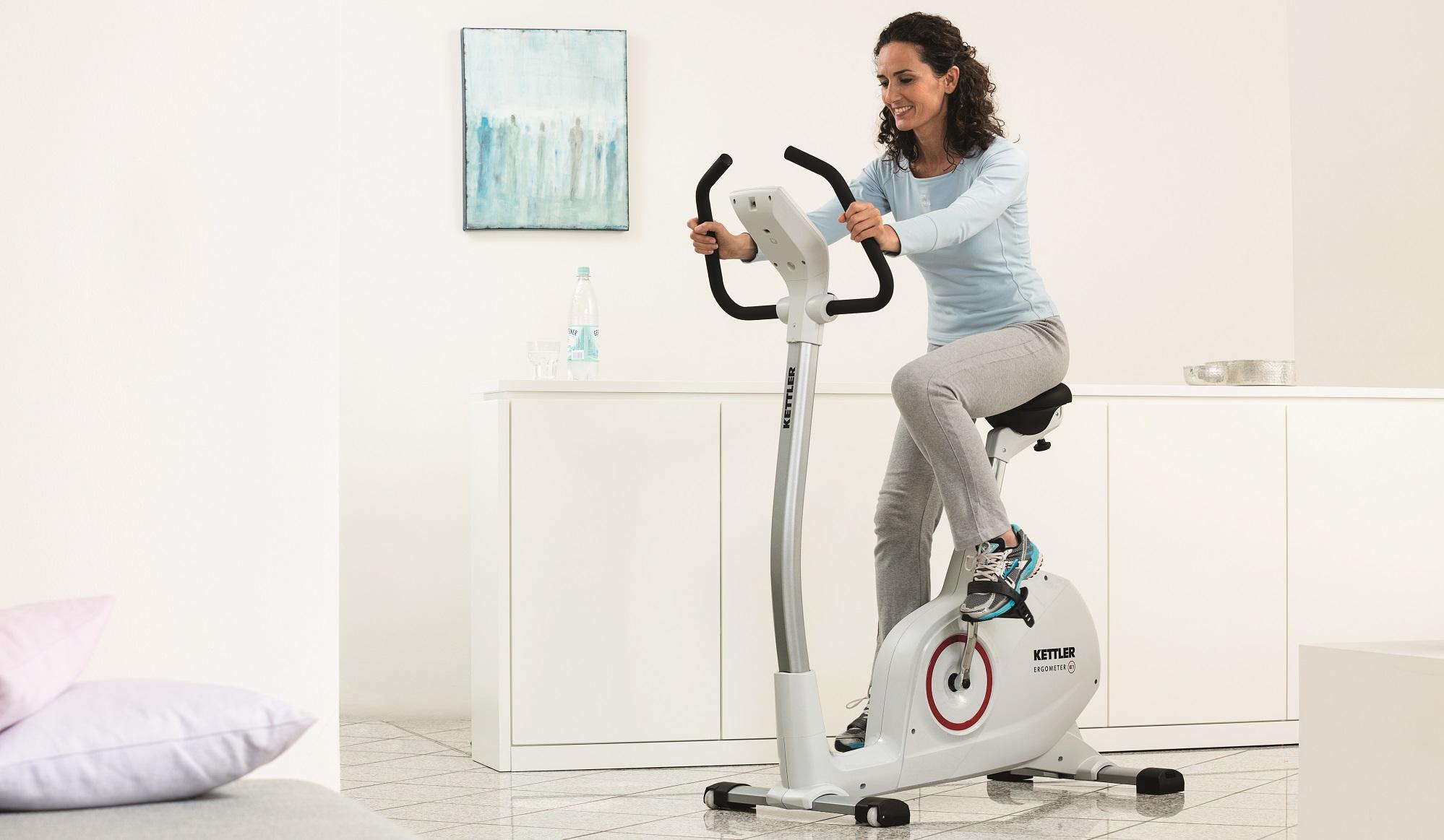 Bicicleta estática Kettler e1 ideal para a sua casa