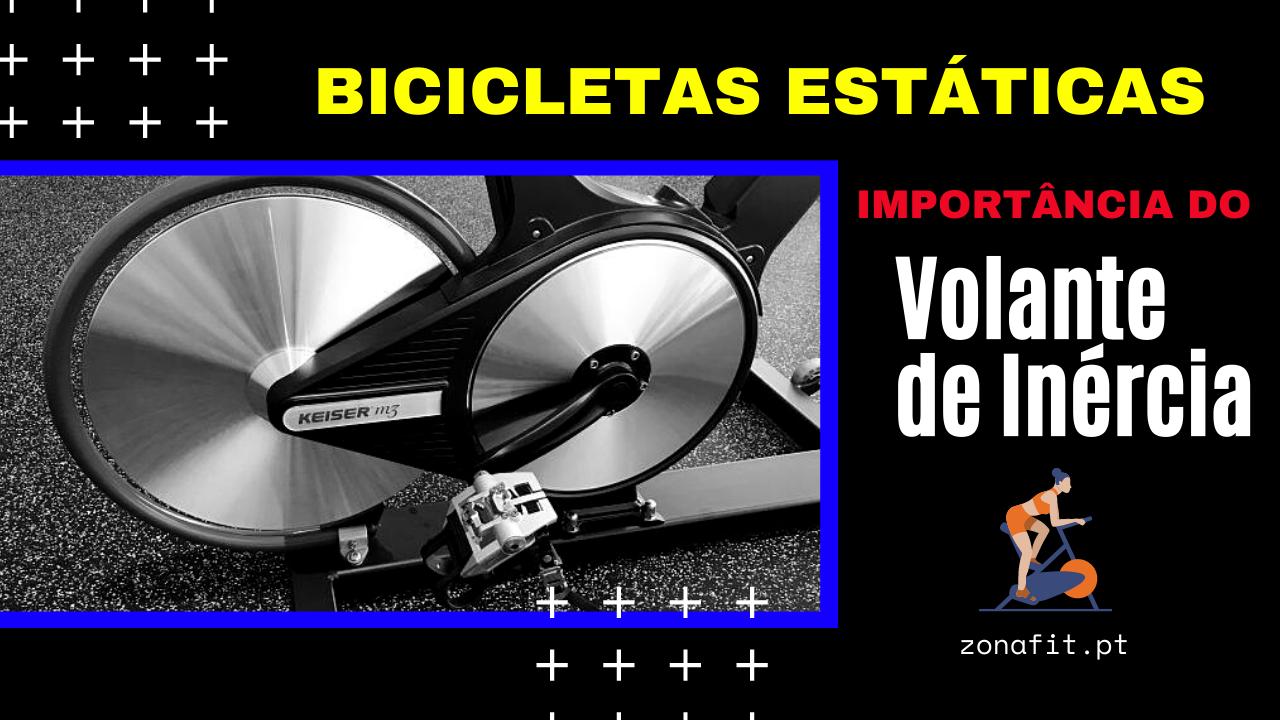 Importancia do volante de inercia em bicicletas estaticas