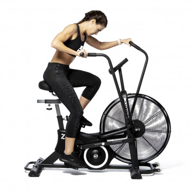 bicicleta indoor bodytone airbike zrob