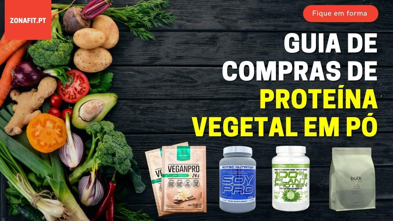 Guia de Compras de Proteínas Vegetais em Pó