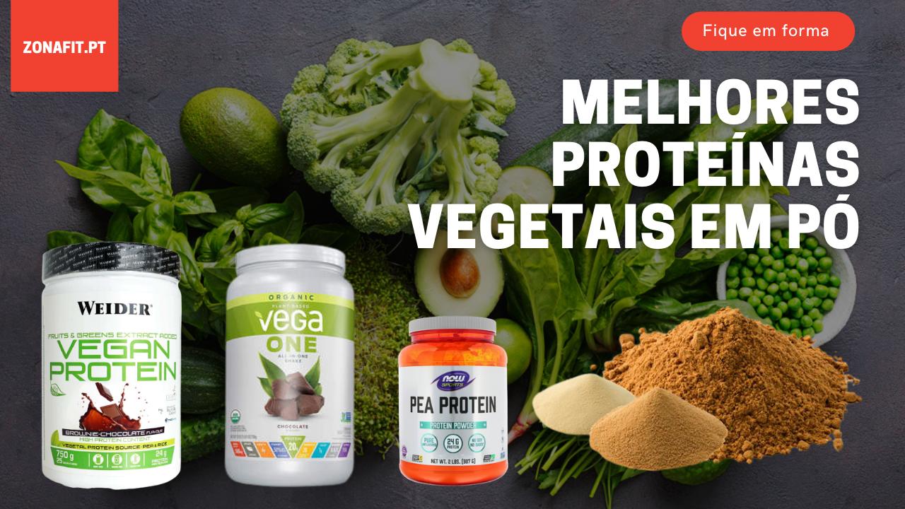 Melhores proteínas Vegetais em pó