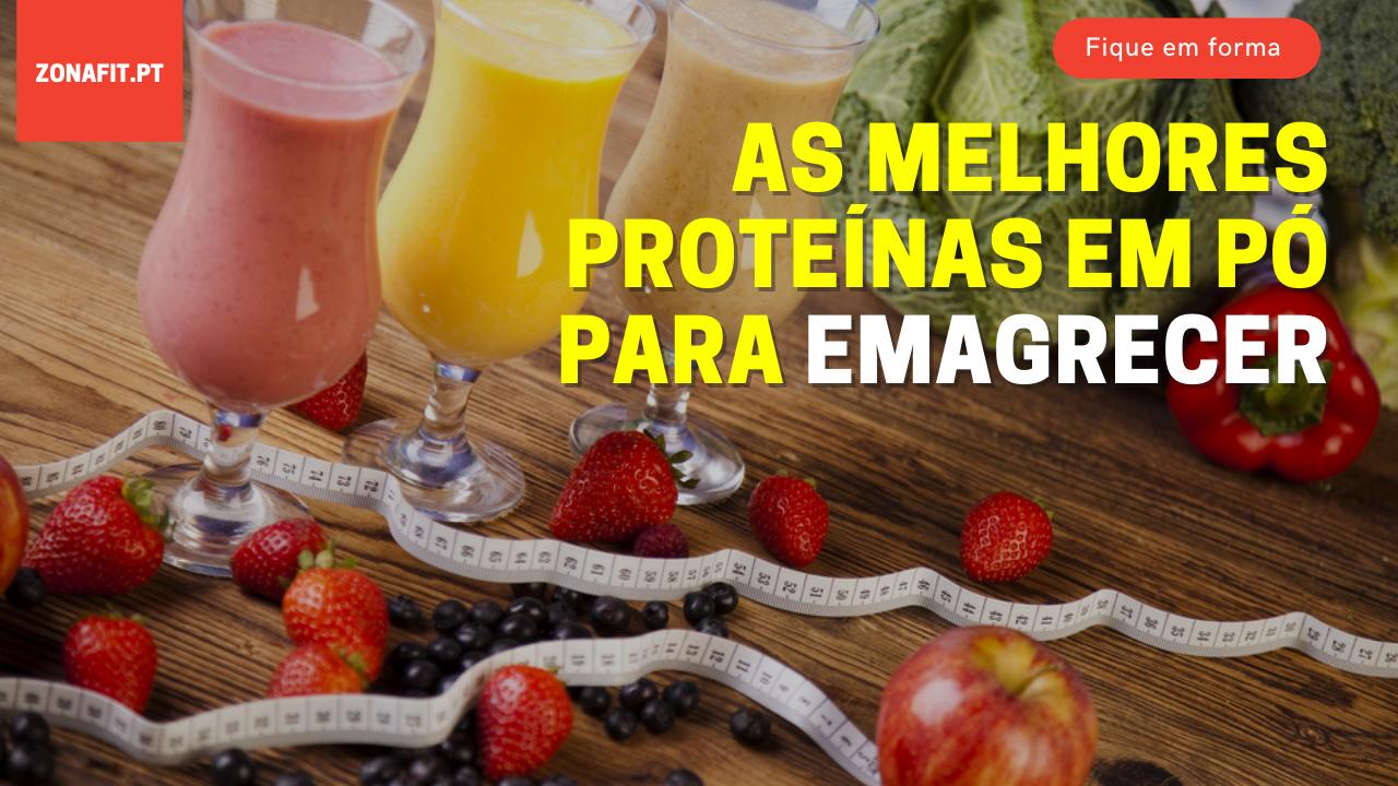 Suplementos de proteínas para emagrecer