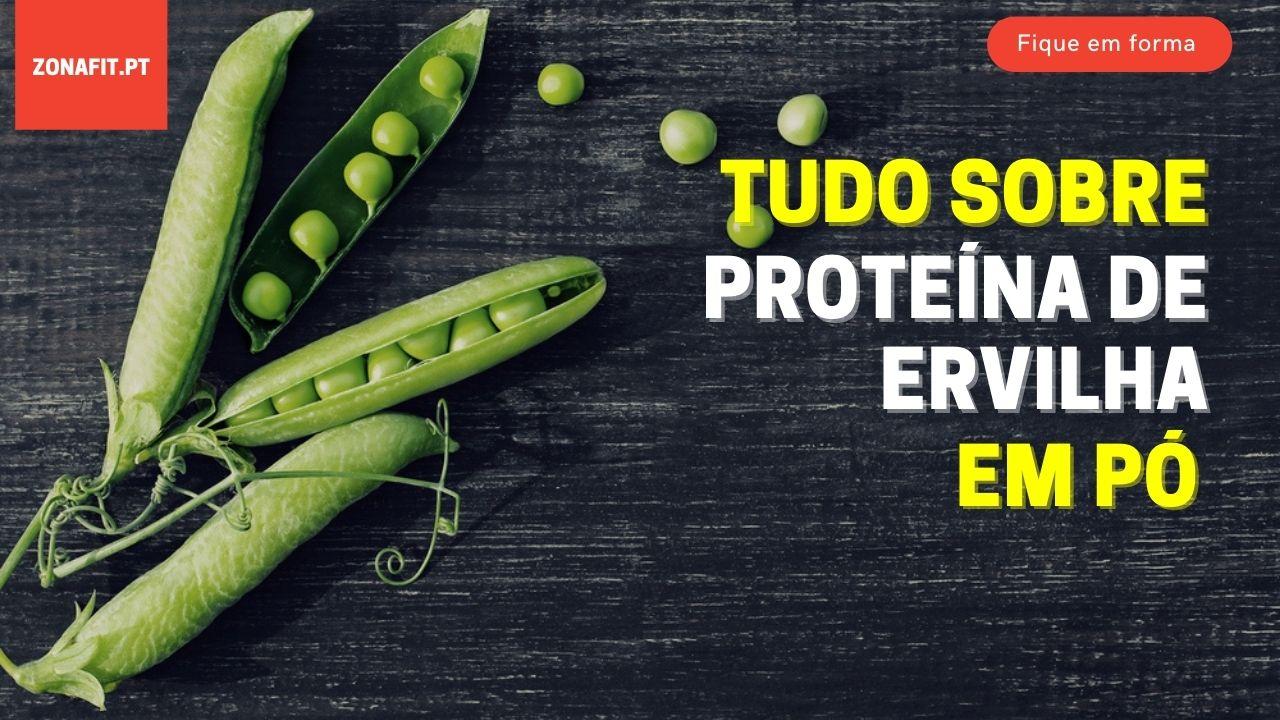 proteína de ervilha em pó